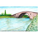 How to Draw Clachan Bridge