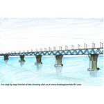 How to Draw Padma Bridge
