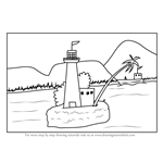 How to Draw an Island Watchtower