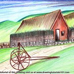 How to Draw an Old Farmhouse