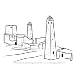 How to Draw The Nakh Towers