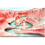 How to Draw Grand Canyon National Park