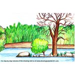 How to Draw Pench National Park