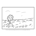 How to Draw a Hilltop Scene