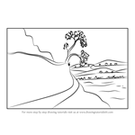 How to Draw Nature Scene