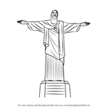 How to Draw Christ the Redeemer