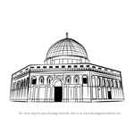 How to Draw Old City of Jerusalem