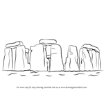 How to Draw Stonehenge
