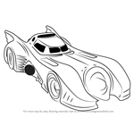 How to Draw a Batmobile 1989