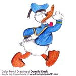 How to Draw a Donald Duck