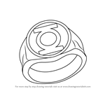 How to Draw Green Lantern Ring