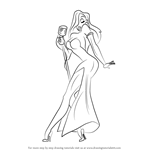 How to Draw Jessica Rabbit