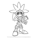 How to Draw Sir Galahad from Sonic the Hedgehog
