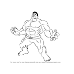 How to Draw Angry Hulk