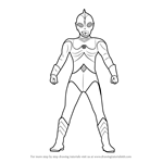 How to Draw Ultraman 80