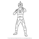 How to Draw Ultraman Ace