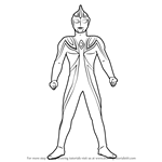 How to Draw Ultraman Agul
