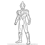 How to Draw Ultraman Ginga