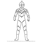 How to Draw Ultraman Jack