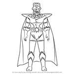 How to Draw Ultraman King