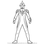 How to Draw Ultraman Max