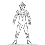 How to Draw Ultraman Mebius