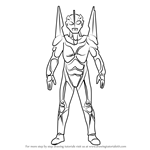 How to Draw Ultraman Noa