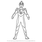 How to Draw Ultraman Orb