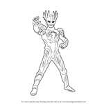 How to Draw Ultraman Saga