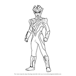 How to Draw Ultraman Victory