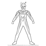 How to Draw Ultraman Zero