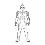 How to Draw Ultraseven X