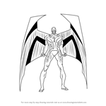 How to Draw Archangel from X-Men