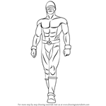 How to Draw Cyclops from X-Men