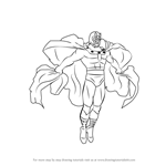 How to Draw Magneto from X-Men