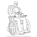 How to Draw Professor X from X-Men