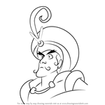 How to Draw Prince Achmed from Aladdin