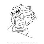 How to Draw Tiger God from Aladdin