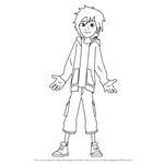 How to Draw Hiro Hamada from Big Hero 6