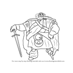 How to Draw King Fergus Elinor from Brave