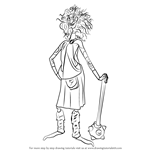 How to Draw Lord Macintosh from Brave