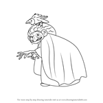 How to Draw The Witch from Brave