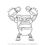 How to Draw Turbo Toilet 2000 from Captain Underpants Movie