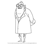 How to Draw Dr. Nefario from Despicable Me
