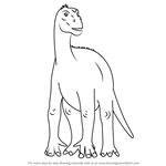How to Draw Aladar from Disney Dinosaur