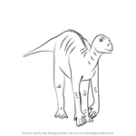 How to Draw Neera from Disney Dinosaur