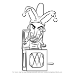 How to Draw Jack in the Box from Fantasia