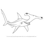 How to Draw Anchor from Finding Nemo