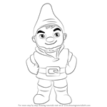 How to Draw Gnomeo from Gnomeo & Juliet