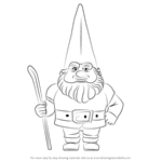 How to Draw Lord Redbrick from Gnomeo & Juliet